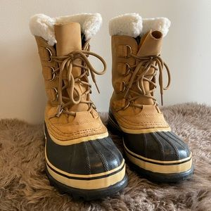 Sorel Caribou Waterproof Boot size 7
